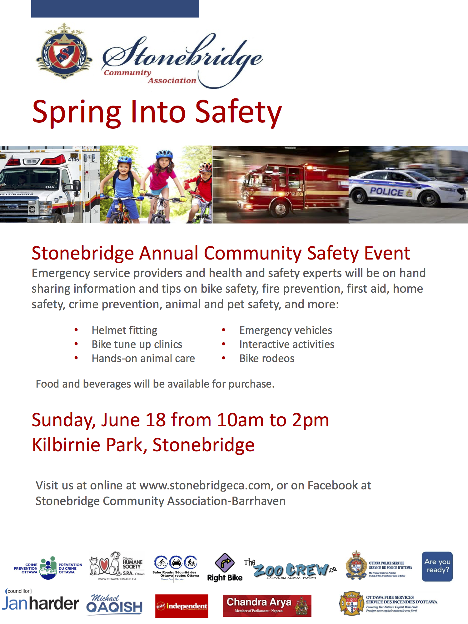 2nd Annual Spring into Safety Event Coming this June 2017