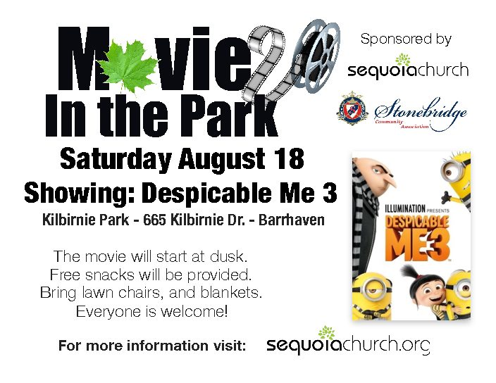 Movie in The Park August