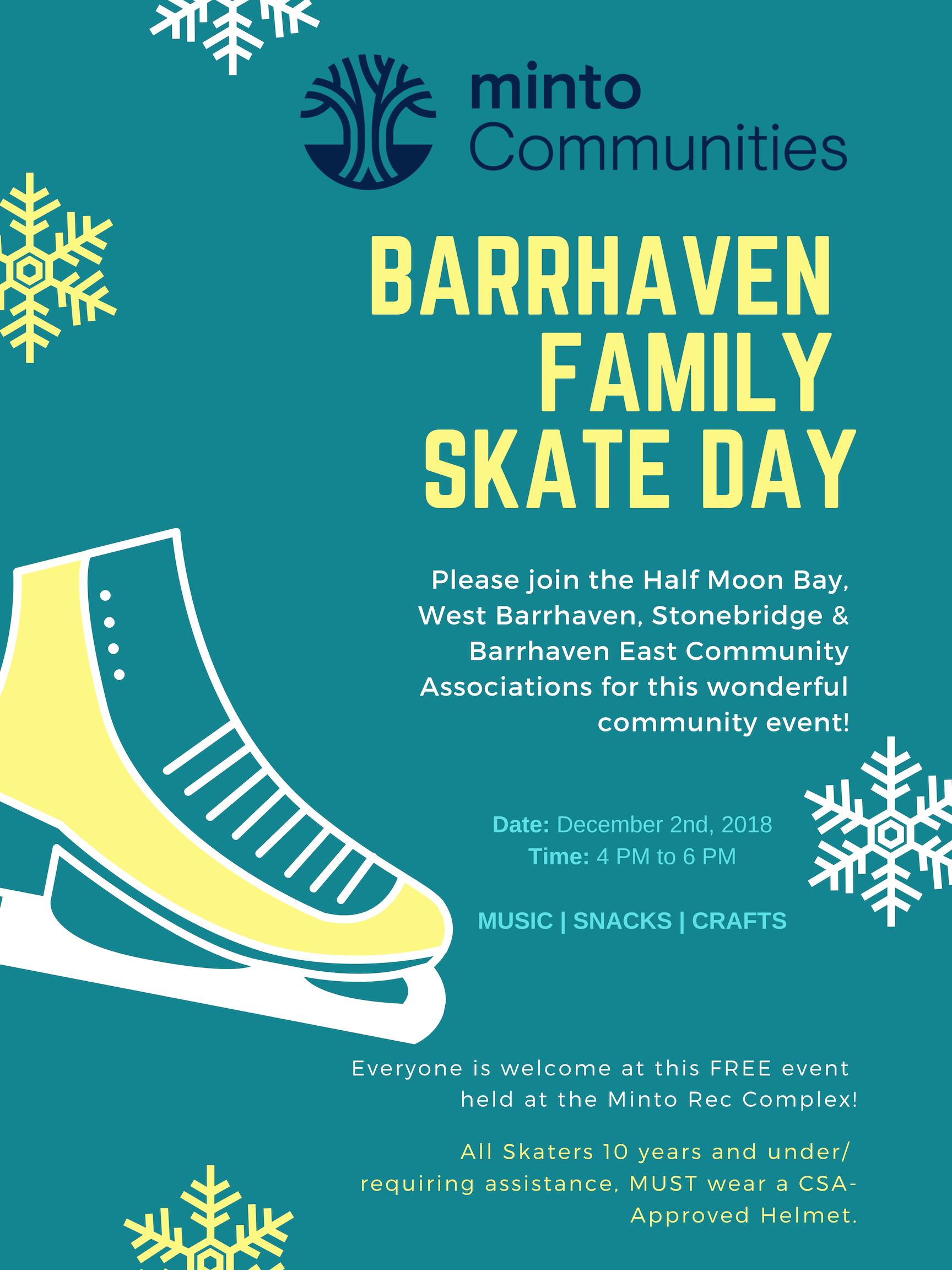 Barrhaven Family Skate Day
